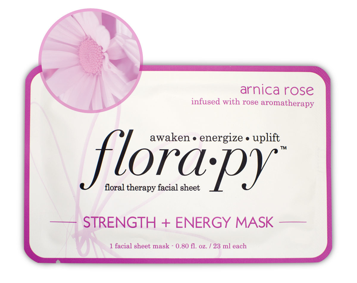 Floral Therapy Facial Sheet Strength & Energy Mask Arnica Rose - 1 Sheet(s) by Florapy (pack of 4) Andalou Naturals Blemish Vanishing Gel, 0.6 Fl Oz