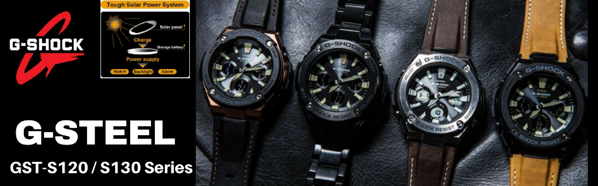 casio gshock gsteel watch