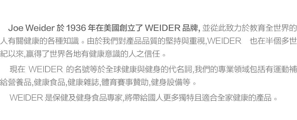 關於WEIDER威德