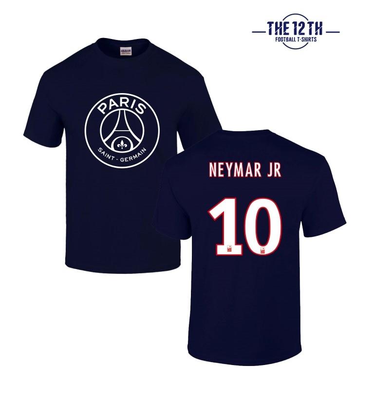 12th Tee PSG 2017 18 Neymar JR T Shirt