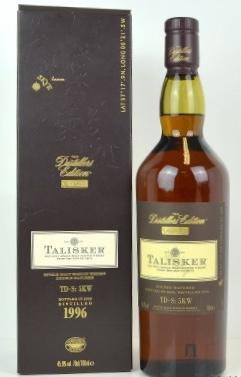 Talisker 1996 distillers edition single malt scotch whi.