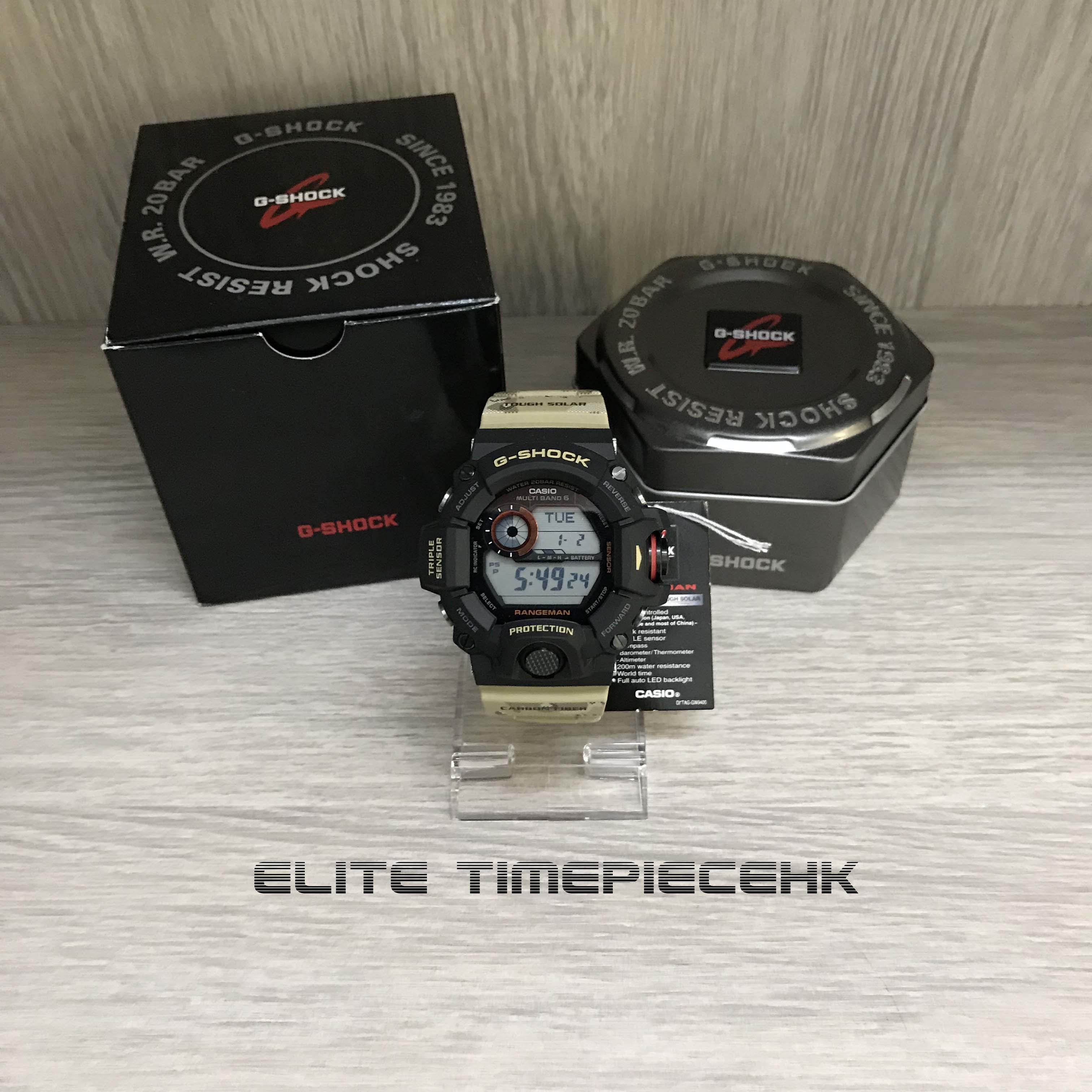 Casio G Shock Rangeman Gw 9400 Men In Desert Ca 9400dcj 1