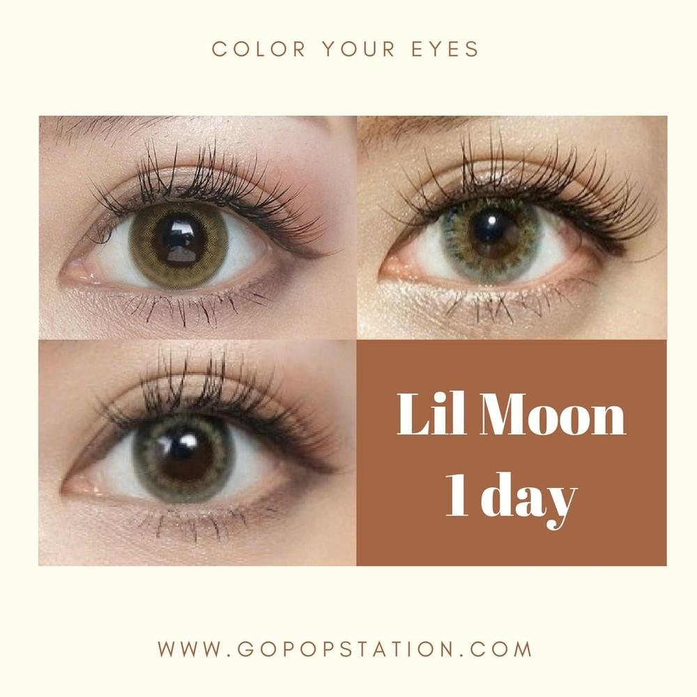 Pia Lilmoon color con 隱形眼鏡