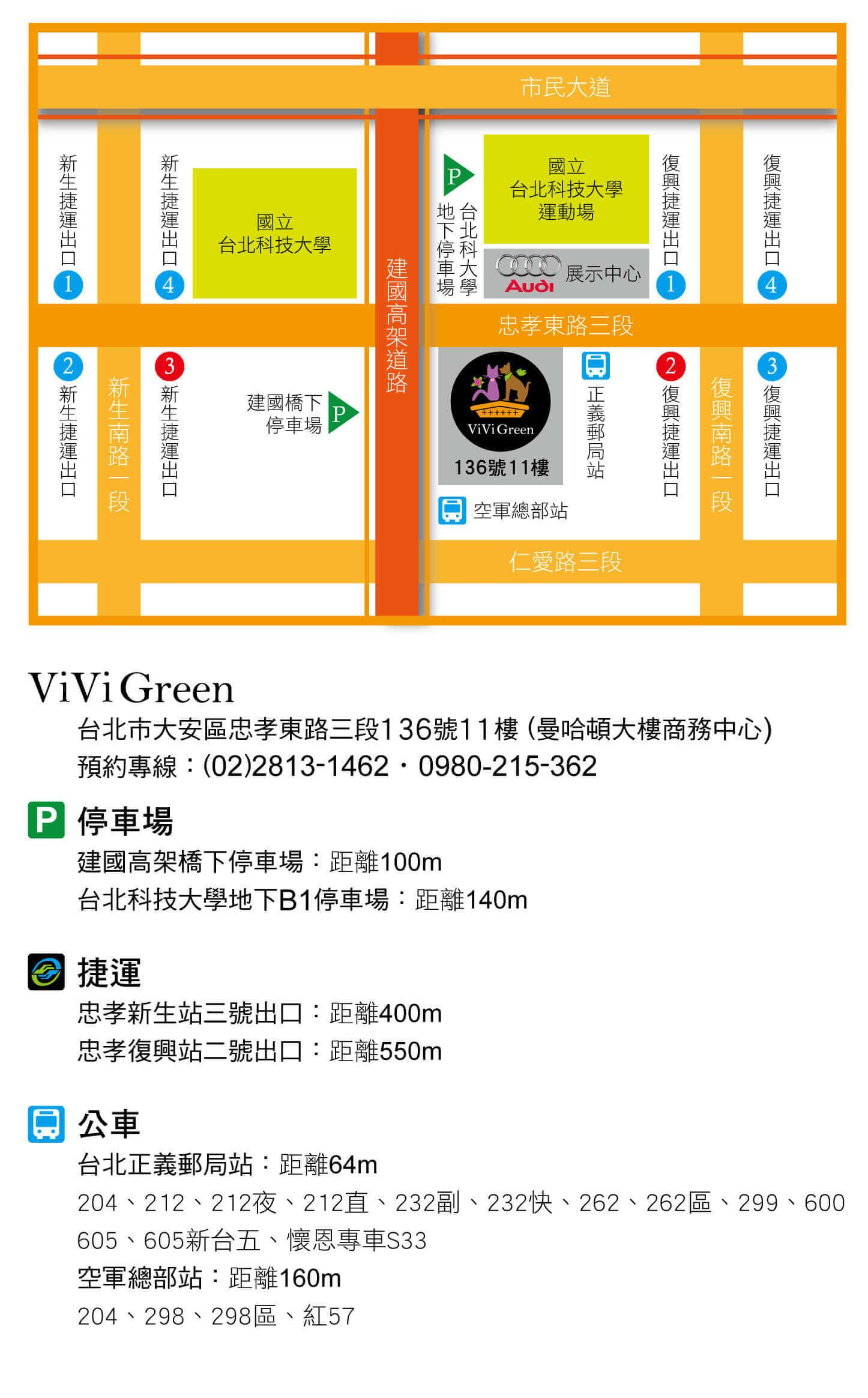 ViviGreen台北展示店