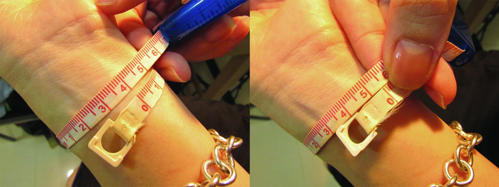 mittag jewelry|手環圍尺寸測量方法