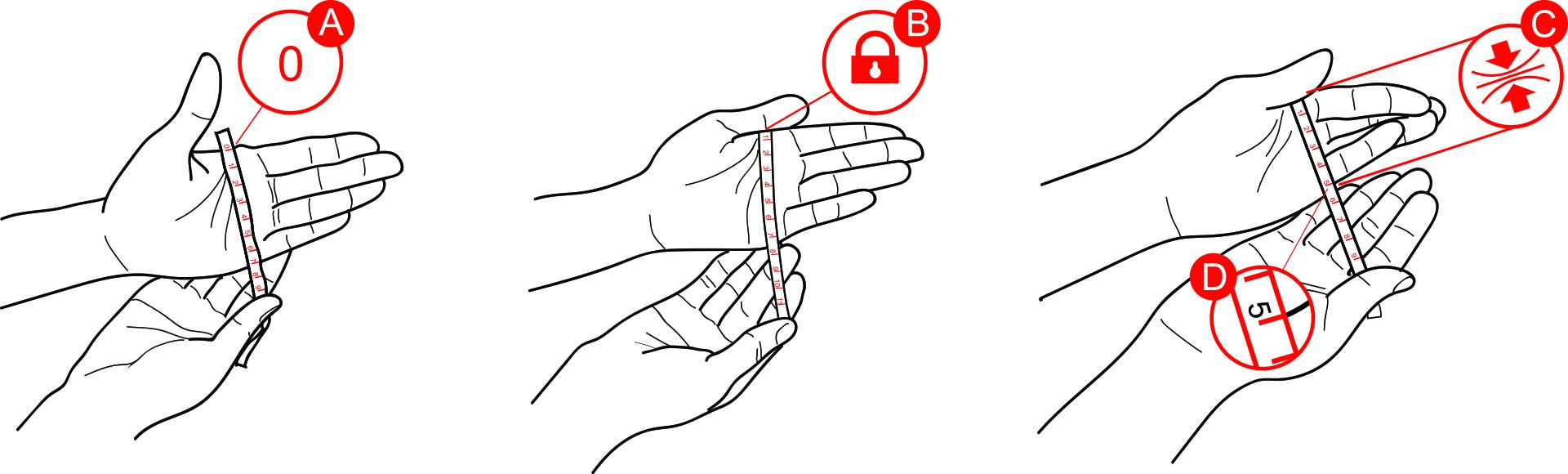 mittag jewelry|手環圍尺寸測量順序