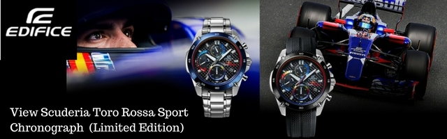 Casio Edifice Scuderia Toro Rossa Limited Edition Watch