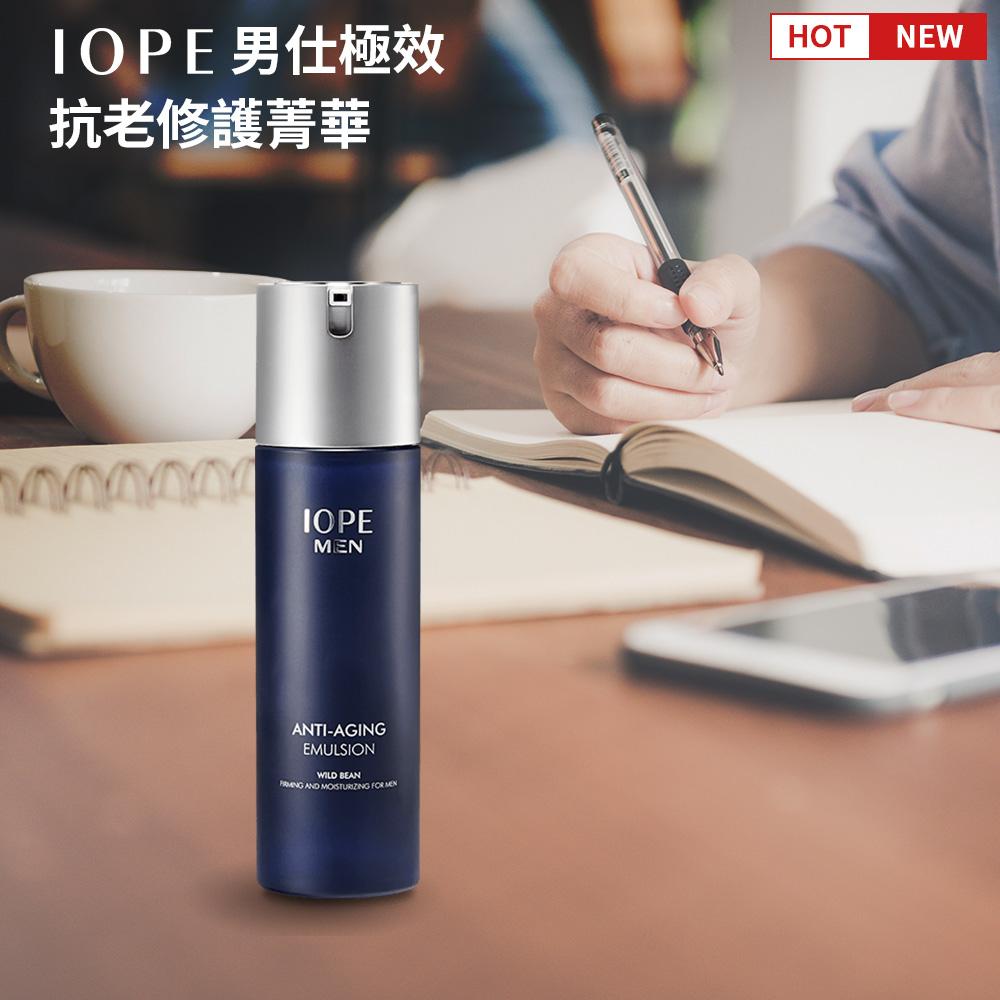 韓國 IOPE 男仕極效抗老修護菁華