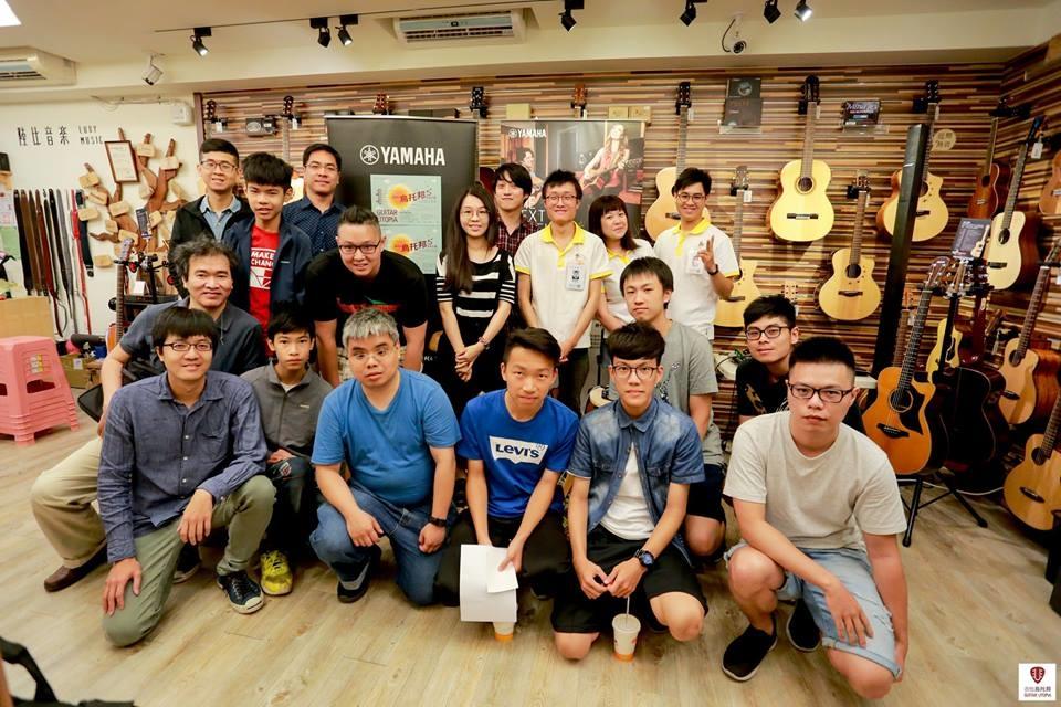 Yamaha新品發表台灣巡迴由台灣知名演奏家 舒喆擔任示範樂手-活動合照