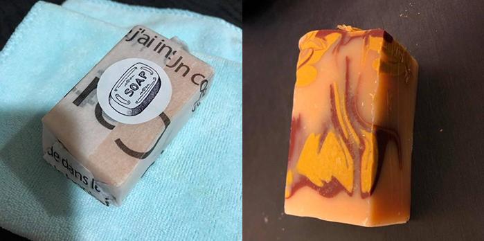 Natural Whale 澳洲冷製天然手工皂之: 澳洲山羊奶,澳洲紅礦泥,薰衣草精油,檸檬香茅精油,迷迭香精油