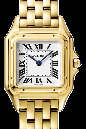 Cartier卡地亞手錶款式-PANTHÈRE 美洲豹系列 黃K金.中型