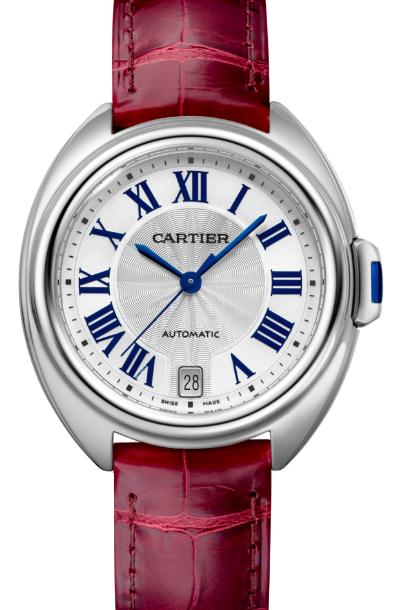 Cartier卡地亞手錶款式-CLÉ 系列精鋼皮帶.35mm