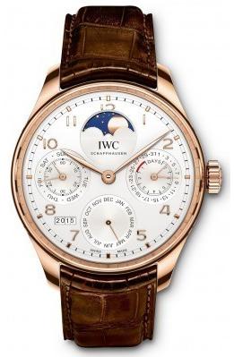 IWC萬國錶-葡萄牙萬年曆腕錶  PORTUGIESER PERPETUAL CALENDAR