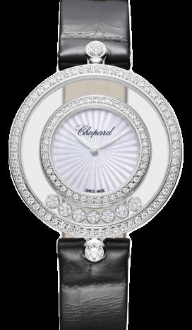 Chopard蕭邦錶-HAPPY DIAMONDS系列  32mm鑽石石英女錶