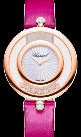 Chopard蕭邦錶-HAPPY DIAMONDS系列  32mm鑽石18K石英女錶