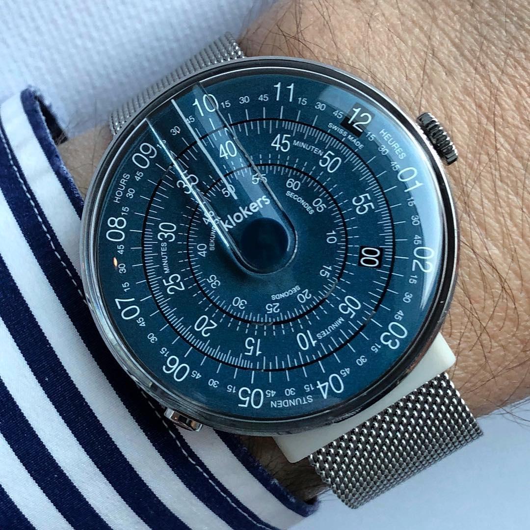 klokers,庫克錶,午夜藍,文青錶,奧創