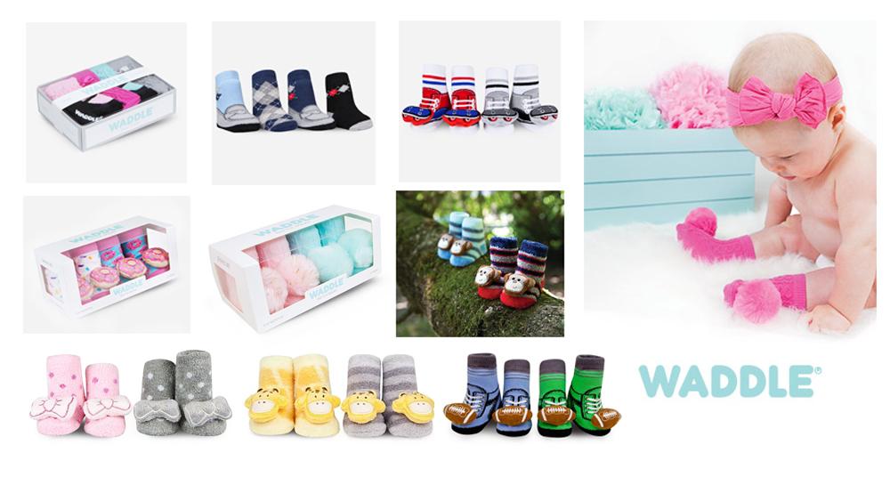 WADDLE維特造型襪立體襪真得好可愛呢