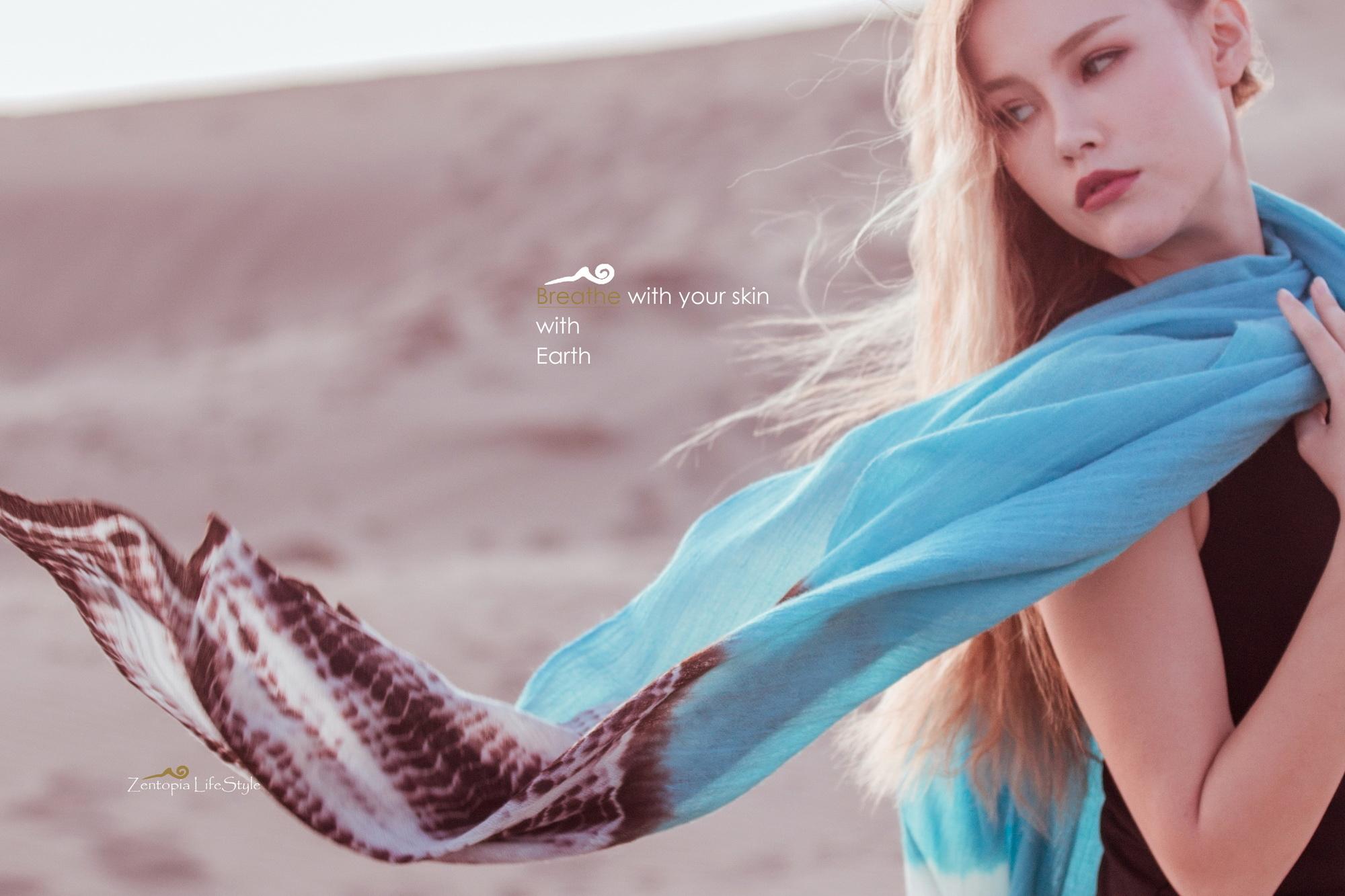 zentopia100%cashmere圍巾義式印象