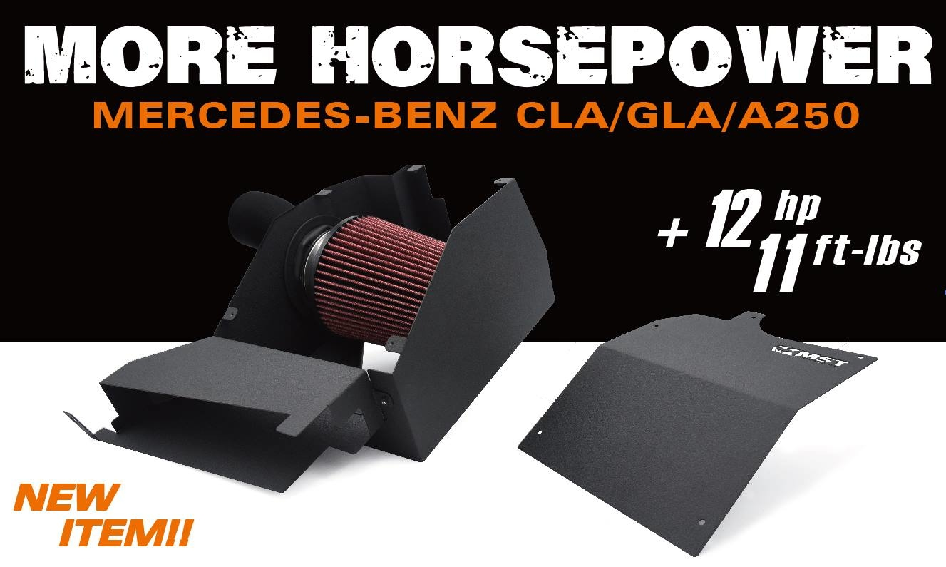 CLA250 INTAKE, A250 INTAKE, GLA250 INTAKE, CLA200 INTAKE, CLA180 INTAKE, A200 INTAKE, A180 INTAKE