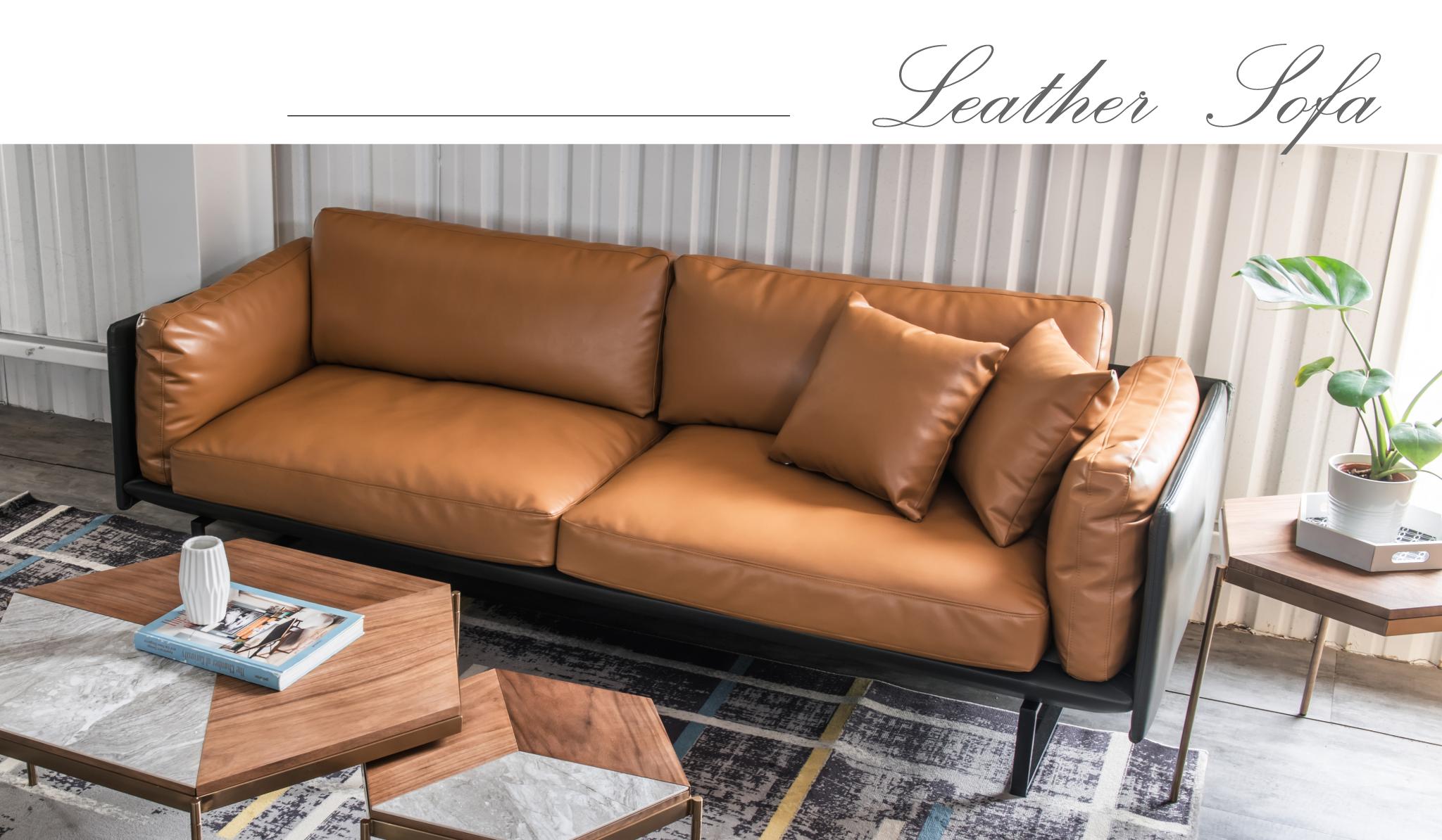 家中有皮沙發是多麼舒適幸福的事
