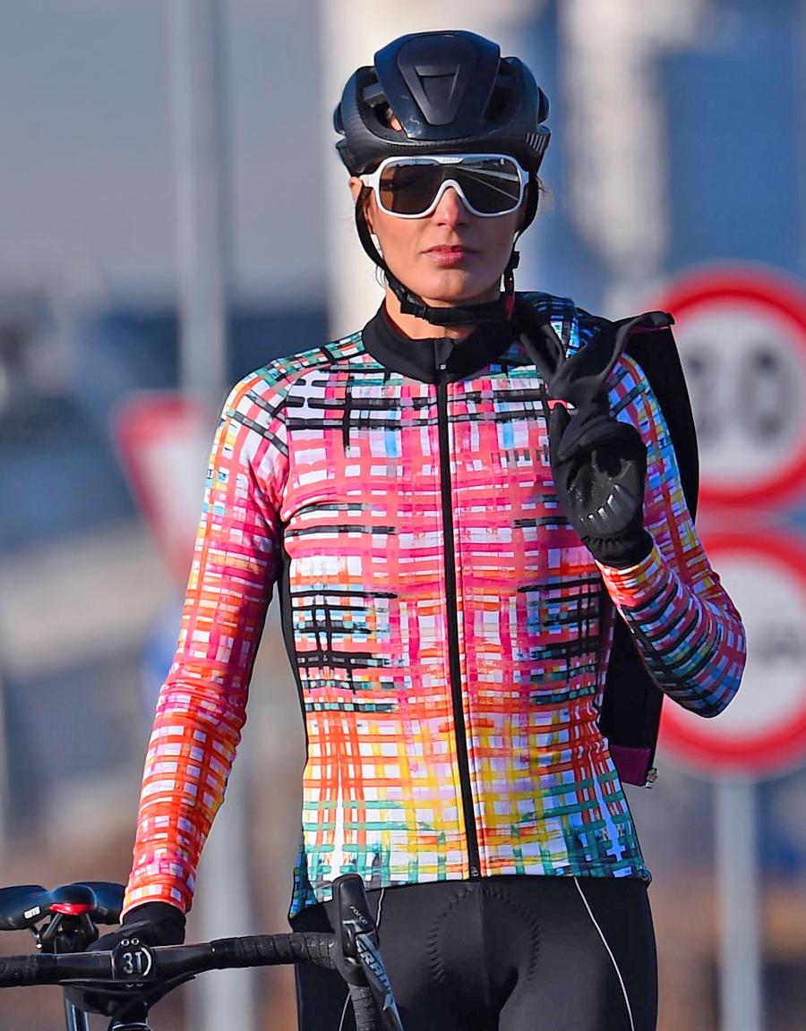 ZeroRH+ 義大利 FASHION LAB 女仕專業刷毛自行車衣