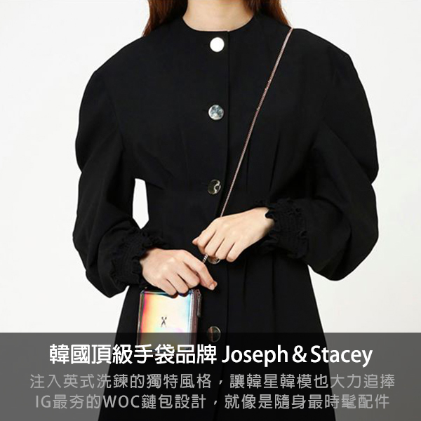 joseph and stacey,woc,鍊包,皮夾,韓國,手拿包,