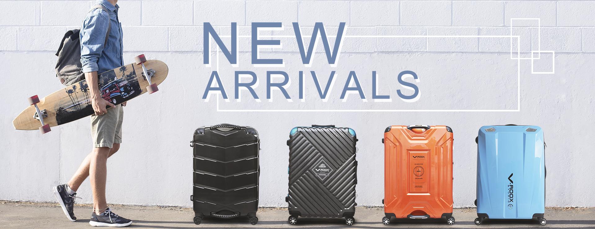 新品上市,GripMaster,V-ROOX,最新,新品,SKYROVER,輕,行李箱,功能性,,,,,