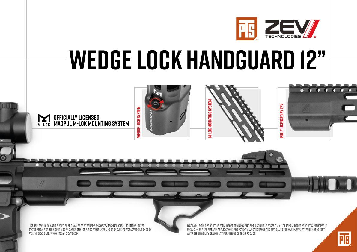 PTS ZEV Wedge Lock Handguard