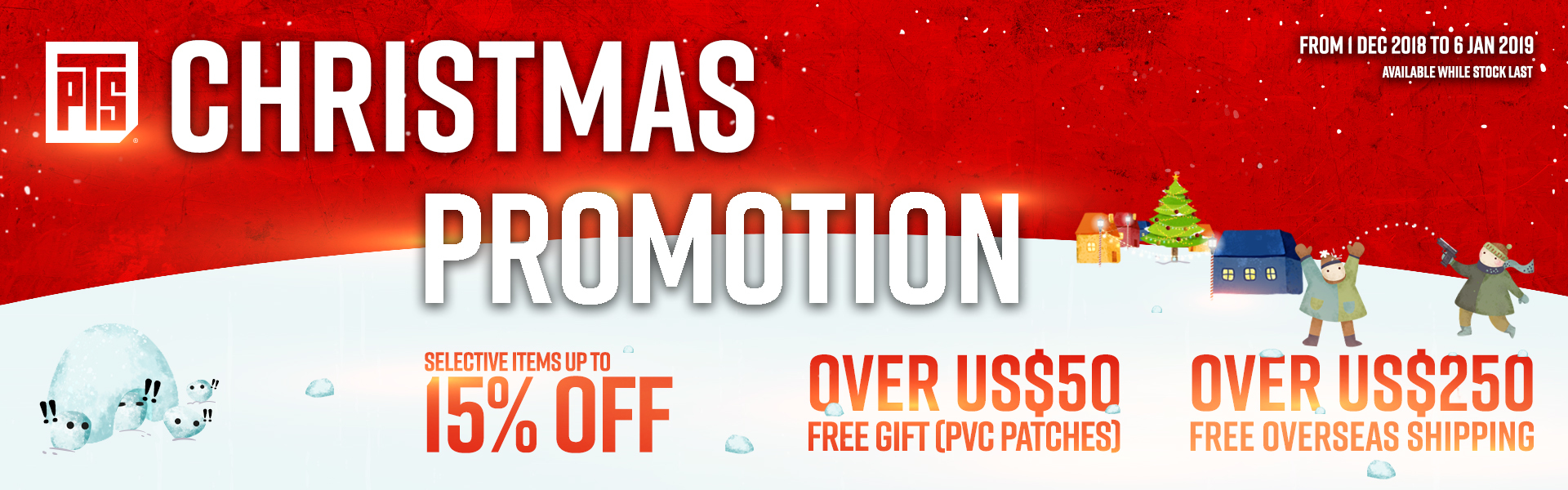Christmas on sale promotion