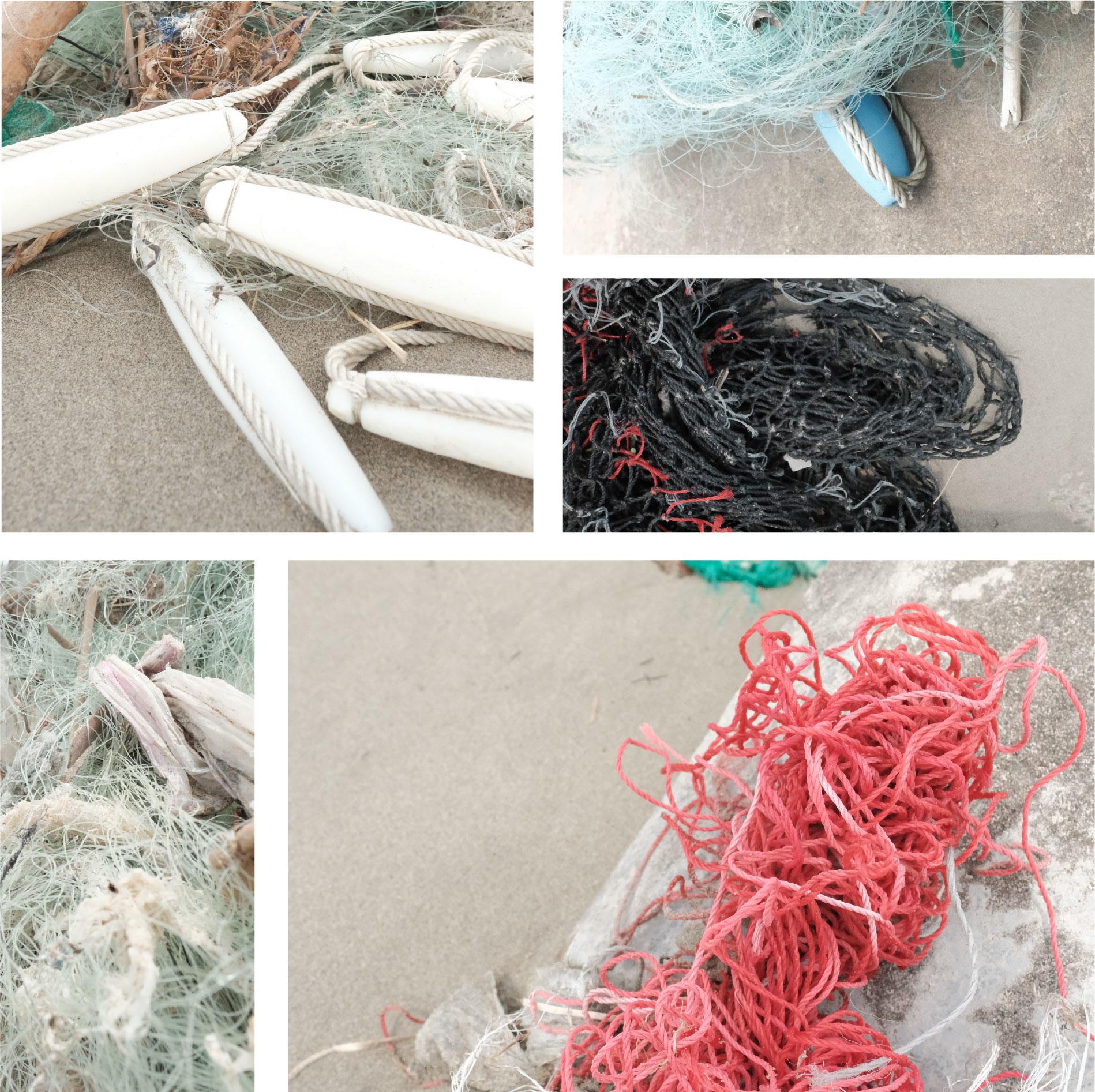 漁網海洋垃圾