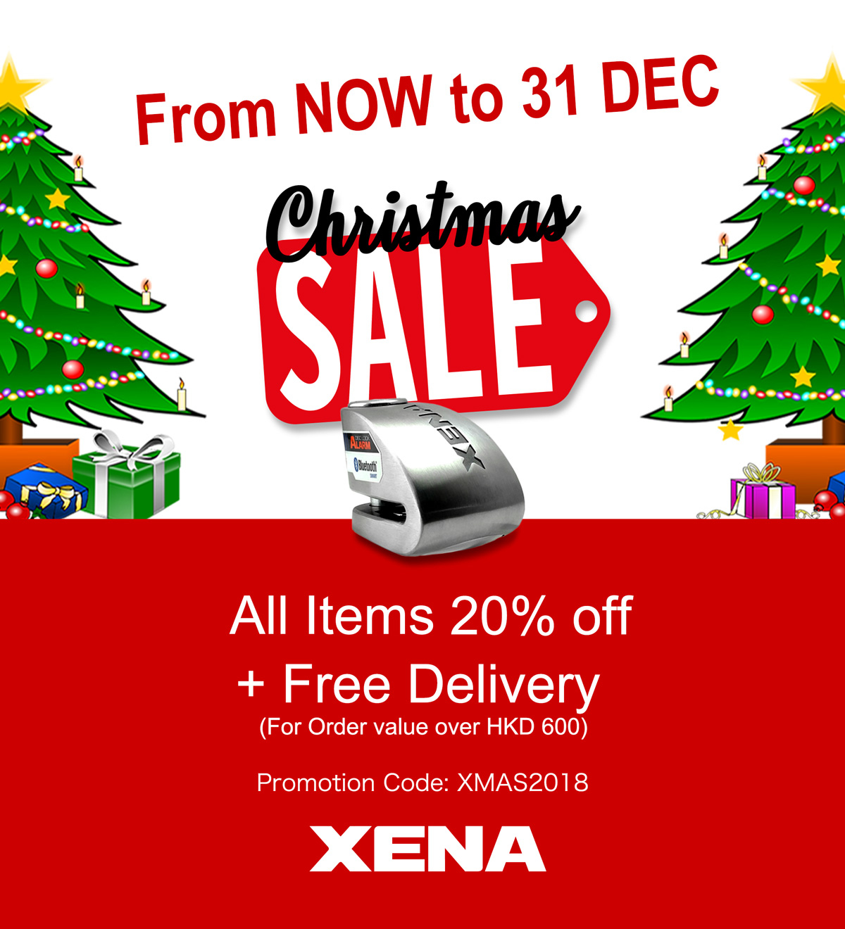 Xena Christmas Sales 2018