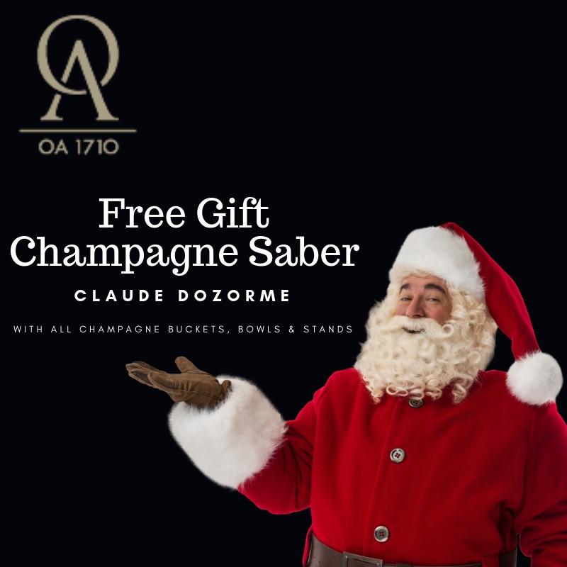 OA 1710 Free gift Champagne Saber for Festive season