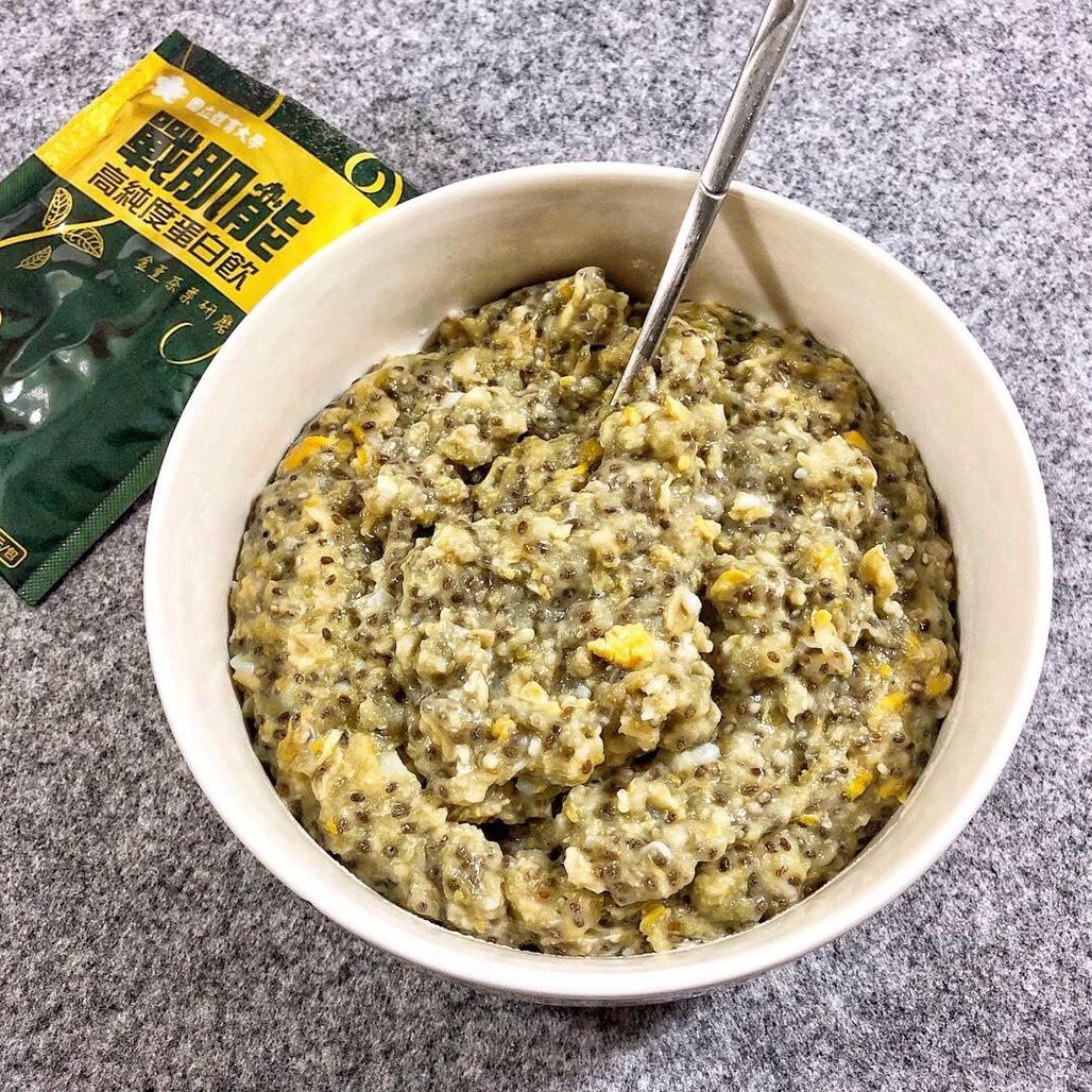 高蛋白麥片