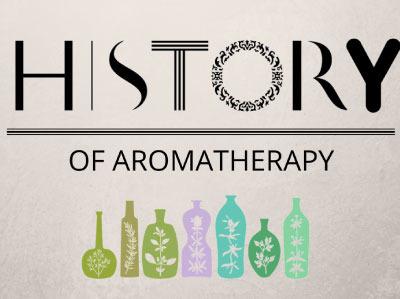 芳香療法歷史