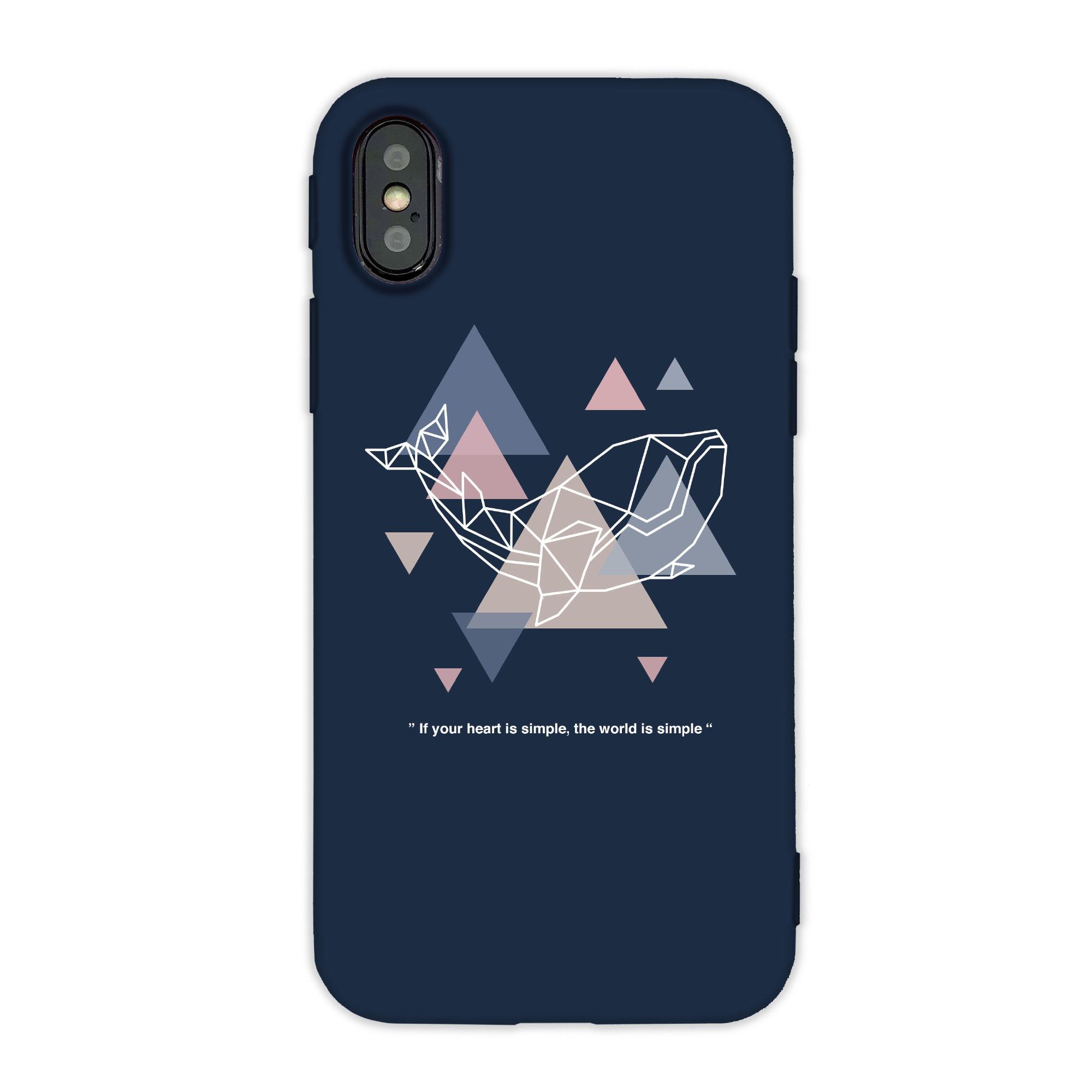 幾何三角Design動物iPhone手機殼