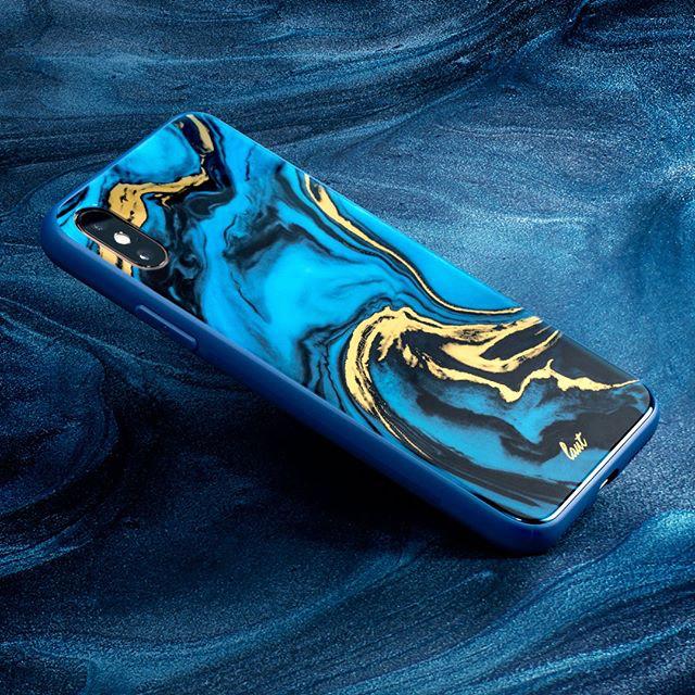 LAUT iPhone Xs Max/XR/Xs/X・礦晶系列鋼化玻璃保護殼