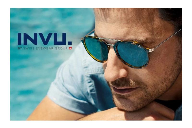 【INVU】瑞士時尚潮流飛行員偏光太陽眼鏡(金邊琥珀框)Z1901C-亞洲限定款
