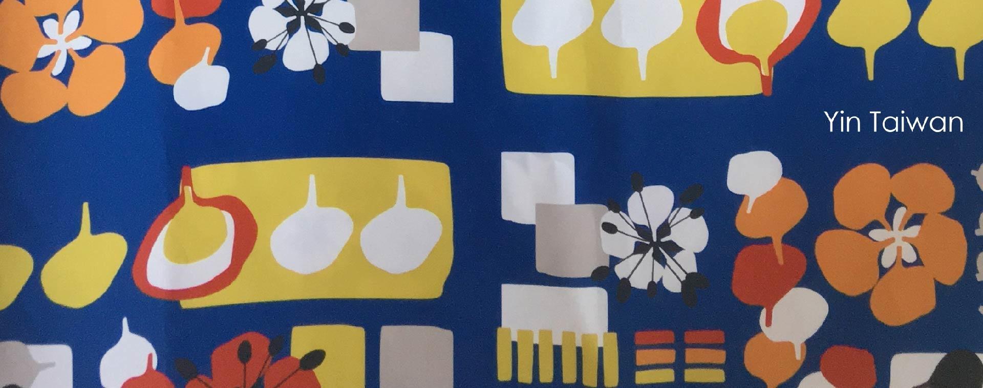 鳳凰花與畢業記憶的台南限定印花設計,藍色