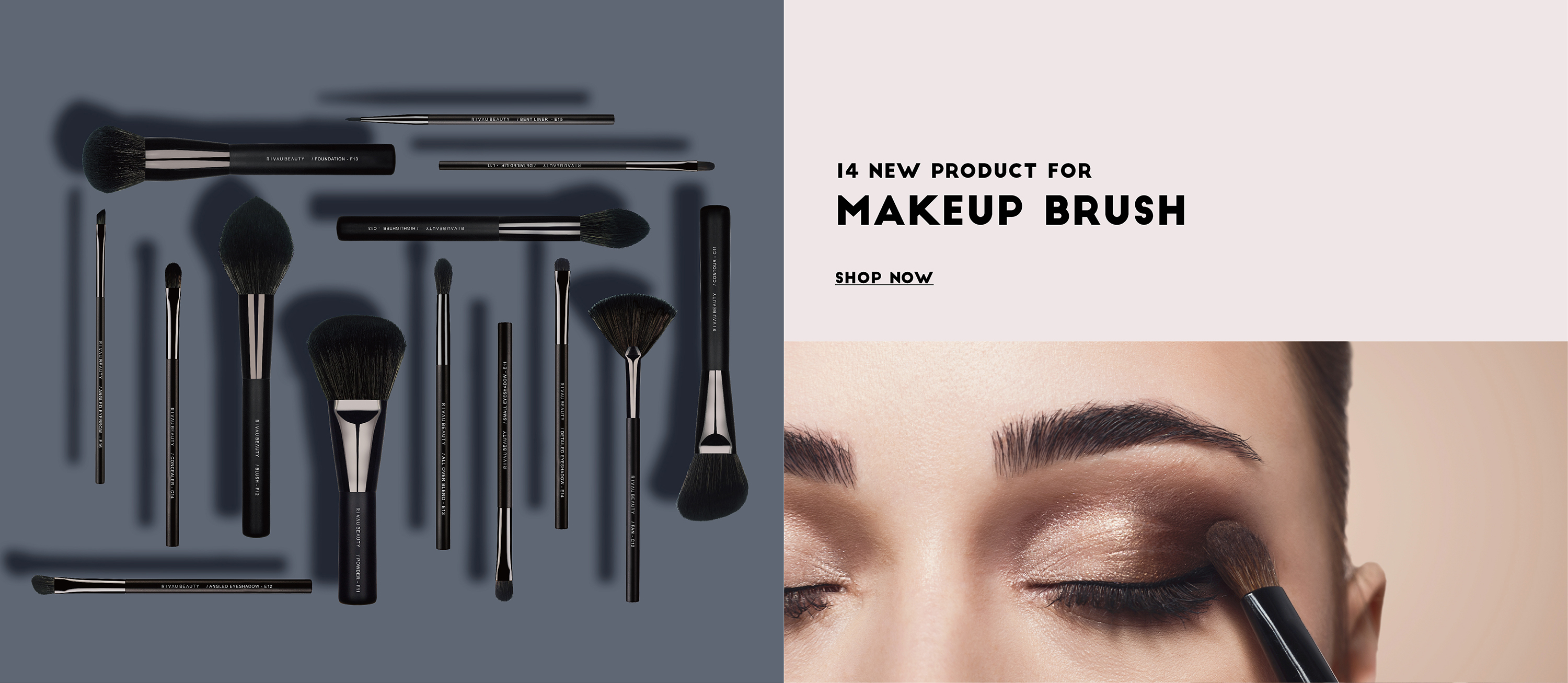 Rivau Beauty New Product Makeup Brush