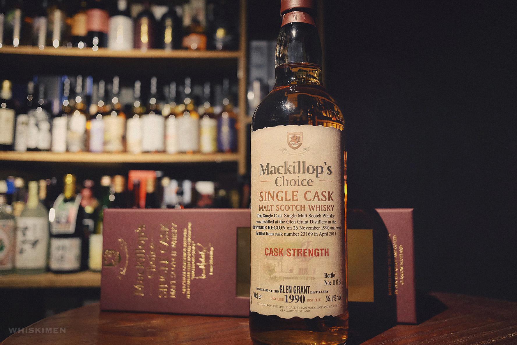 Mackillop's Choice Glen Grant 1990 20YO