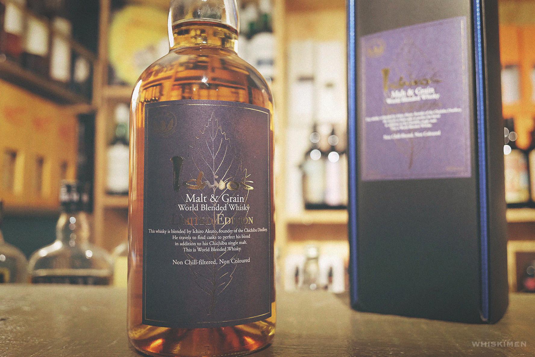 秩父 Ichiro's Malt & Grain World Blended Whisky