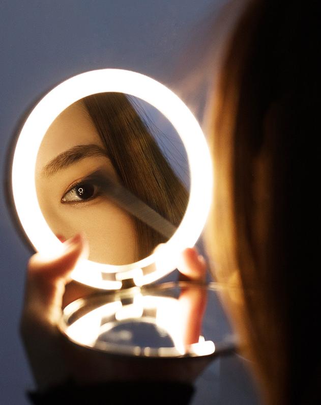 Midea美的口袋化妝鏡