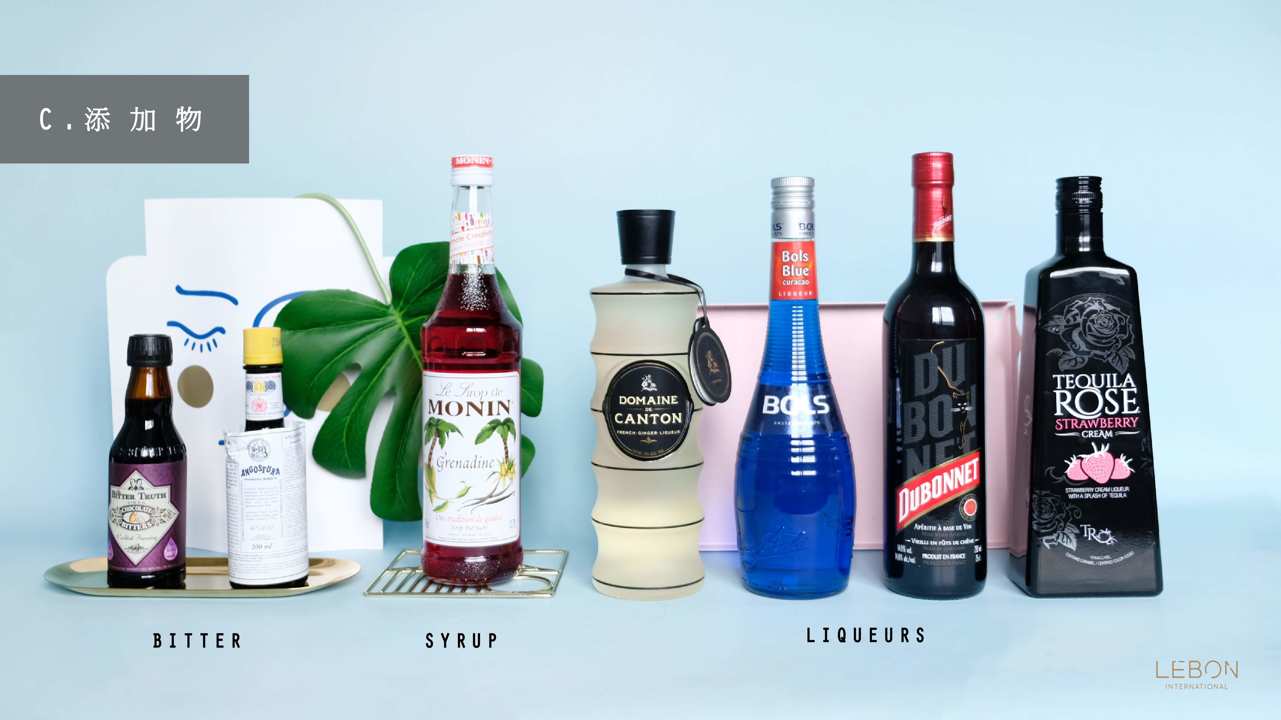 Cocktails Ingredients C