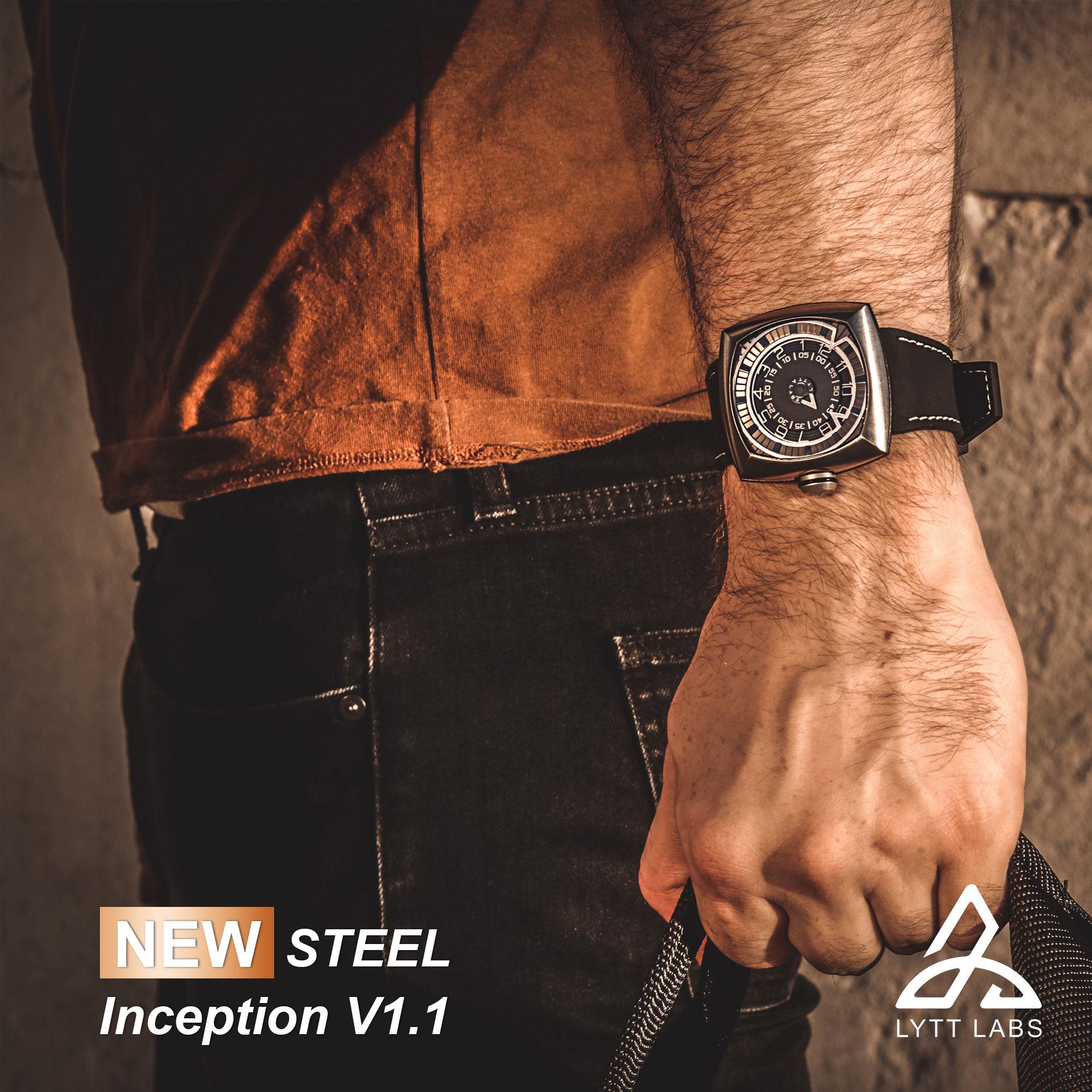 LYTTLABS ,INCEPTIONV1.1,日晷錶,奧創,Ultra Gears