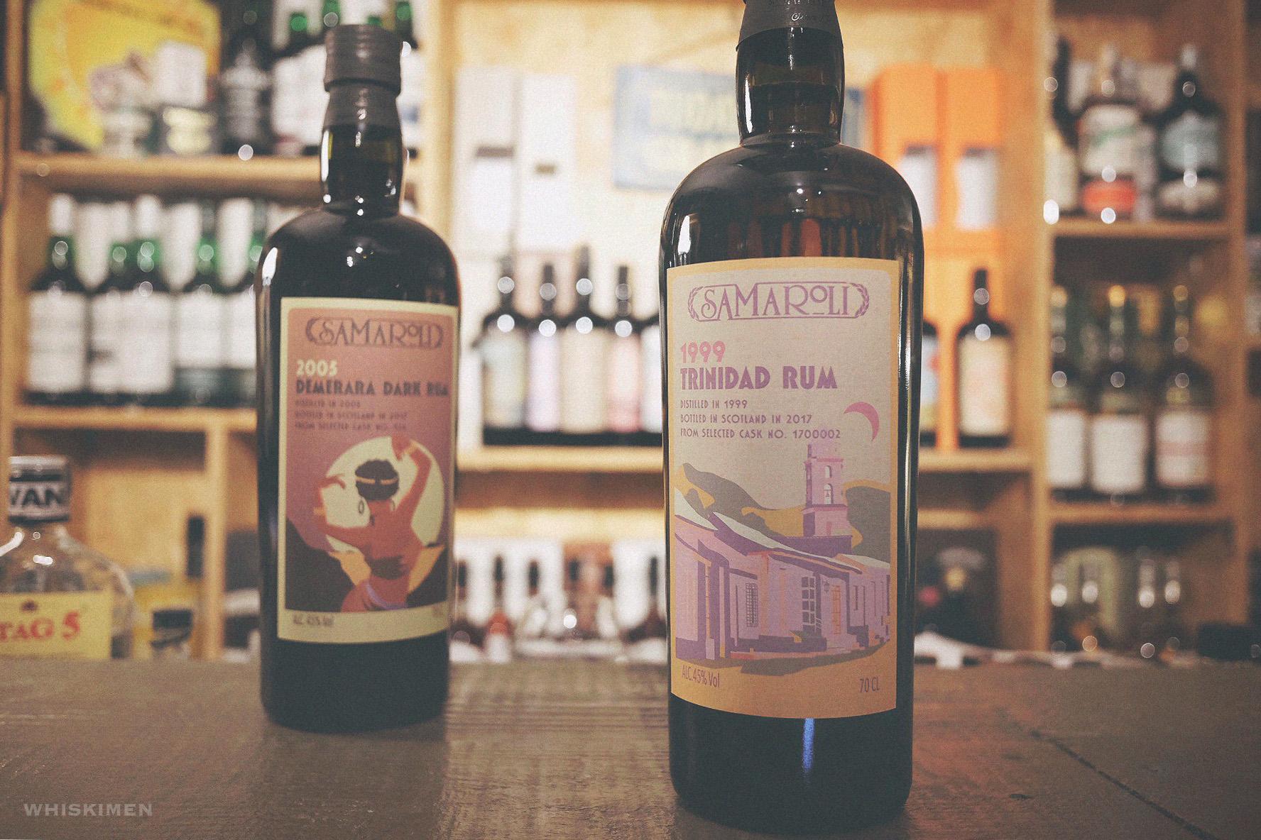 Samaroli 1999 18 Year Old Trinidad Rum
