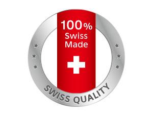 瑞士高品質,百分之百瑞士製造,通過歐盟嚴格品質把關,符合 Swiss Quality 高質量標準
