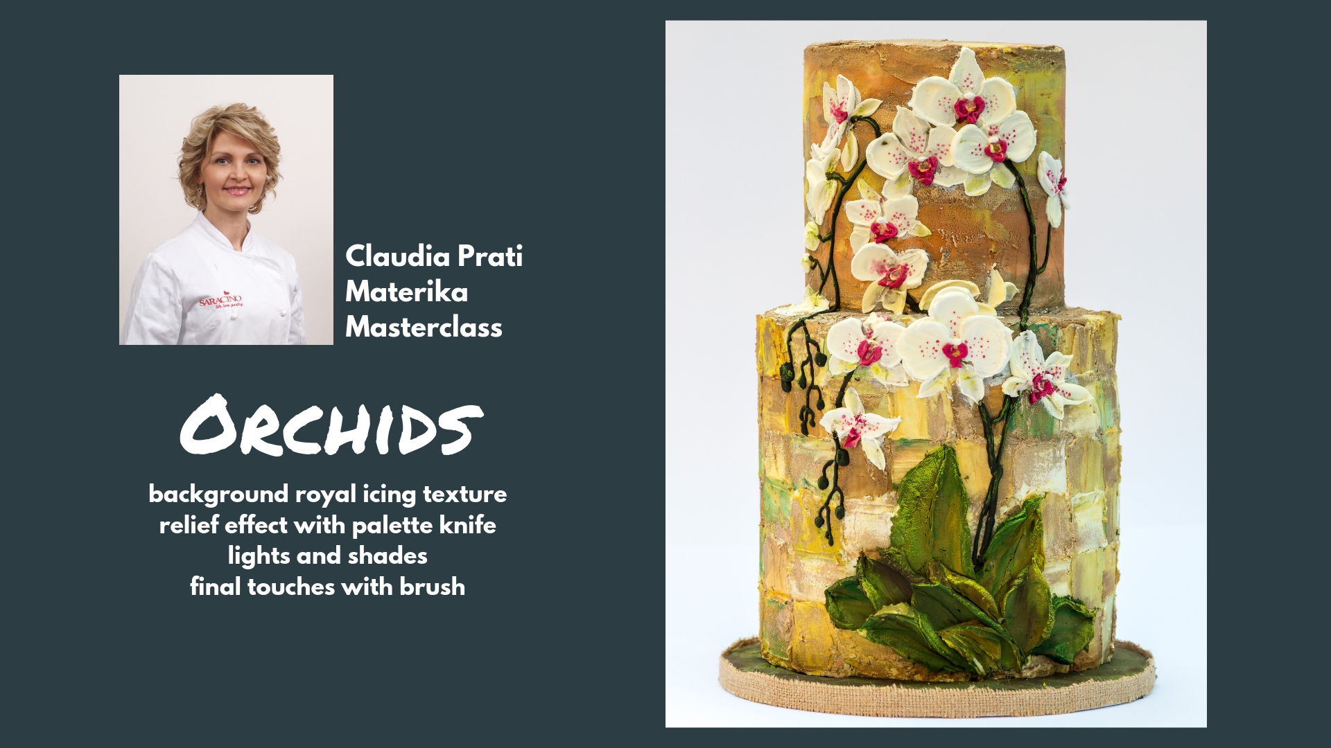 Claudia Prati Materika Masterclass - Orchids