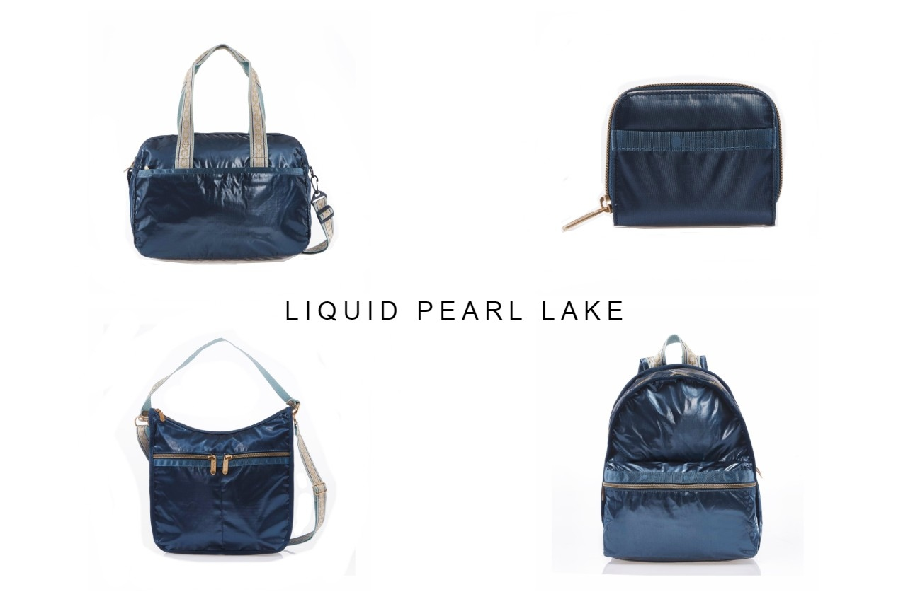 lesportsac solid colors 單色系列, h044 liquid pearl lake
