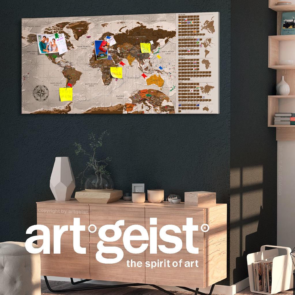 Artgeist,地圖