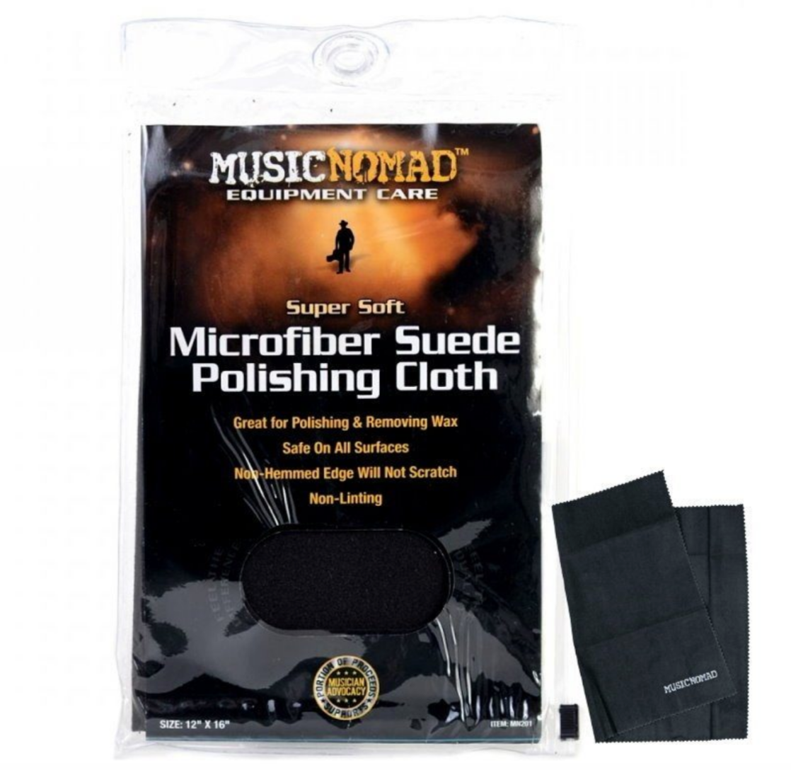 MusicNomad麂皮亮光樂器擦拭布